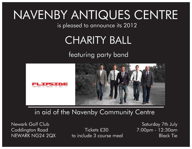 Navenby Antiques Centre 2012 Charity Ball